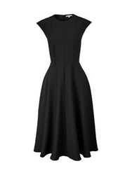Carven Full Skirt Dress Black