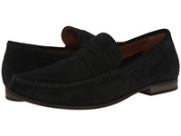 Fitzwell Kimo Black Suede Men's Flat Shoes