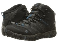 Merrell All Out Blaze Vent Mid Waterproof Black Women's Shoes