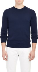 Ralph Lauren Black Label Lightweight Wool Sweater Blue