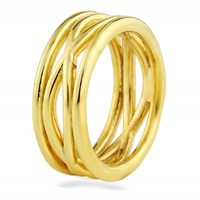 Marshelly's Jewelry Manic Knuckle Ring 18K Gold Plated