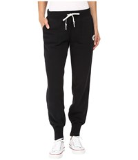 Converse Core Signature Fleece Pants Black Women's Casual Pants