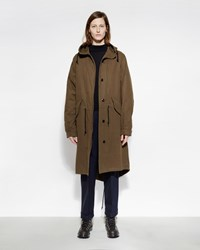 Mhl By Margaret Howell Fishtail Parka Khaki
