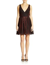 Abs By Allen Schwartz Fit And Flare Cocktail Dress Red