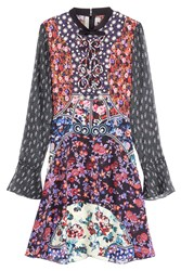 Mary Katrantzou Printed Silk Dress Multicolor