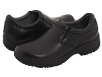 Dansko Wynn Black Smooth Leather Men's Slip On Shoes