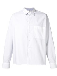 Marni Inside Stripe Shirt White