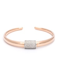 Sw Tch Open Diamond Detail Bangle Pink And Purple