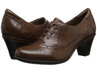 Cobb Hill Shayla Brown Women's Lace Up Casual Shoes