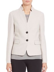 Peserico Knit Sleeved Two Button Blazer