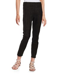 Ivanka Trump Faux Suede Pants Black