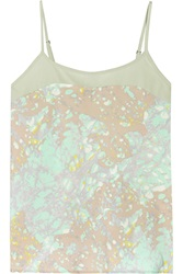 W118 By Walter Baker Cathy Printed Satin Top