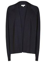 Reiss Lexa Open Front Cardigan Night Navy