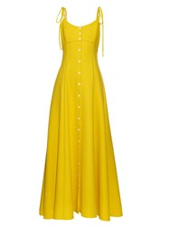 Rosie Assoulin High Garden Button Down Gown