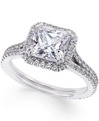 Macy's Certified Diamond Engagement Ring 1 5 8 Ct. T.W. In 14K White Gold