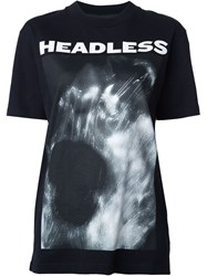Hood By Air 'Headless' T Shirt Black