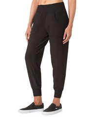 Mpg Cuffed Jersey Jogger Pants Black