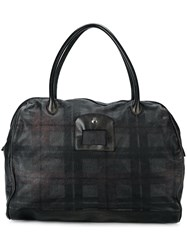 Numero 10 Checked Holdall Black