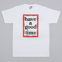 Have A Good Time Frame Tee White