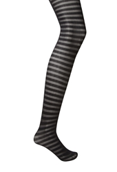 Forever 21 Striped Sheer Tights