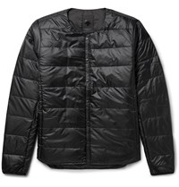 Descente Quilted Shell Down Jacket Black