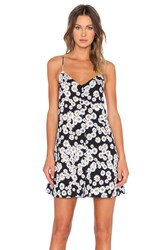 Motel Sana Slip Dress Black