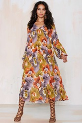 Nasty Gal After Party Vintage Kassidy Sheer Dress Floral
