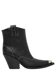 Givenchy 80Mm Cowboy Studded Leather Boots