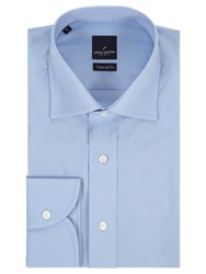 Daniel Hechter Poplin Tailored Fit Shirt Light Blue