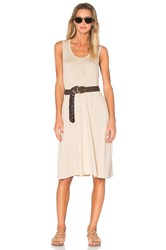 American Vintage Wocstate Tank Dress Beige
