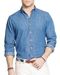 Ralph Lauren Denim Button Down Shirt Classic Fit