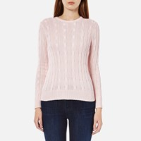 Polo Ralph Lauren Women's Julianna Crew Neck Jumper Antique Pink