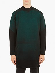 Y 3 Teal Knitted Ottoman Top