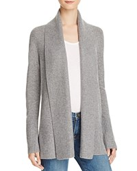 Bloomingdale's C By Shawl Collar Cashmere Cardigan Slate