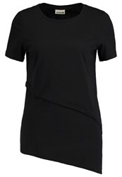 Noisy May Nmnisa Print Tshirt Black