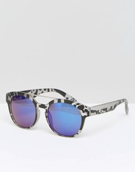 Jeepers Peepers Square Sunglasses Grey