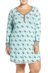 Pj Salvage Plus Size Women's Short Nightgown