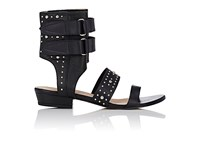 Iro Women's Studded Xilca Ankle Cuff Sandals Black