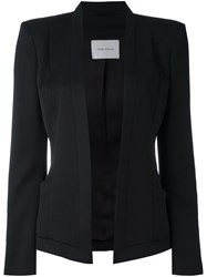 Balmain Pierre Structured Fitted Jacket Black
