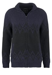 Scotch And Soda Cardigan Dark Blue
