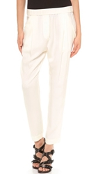 3.1 Phillip Lim Draped Pocket Trousers White