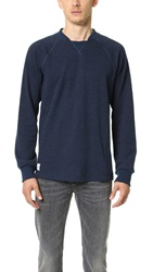 Native Youth 3D Fabric Crew Pullover Navy