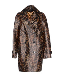 Barbara Bui Full Length Jackets Brown
