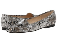 Enzo Angiolini Liberty White Multi Synthetic Women's Flat Shoes Silver