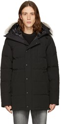 Canada Goose Black Down Black Label Parka