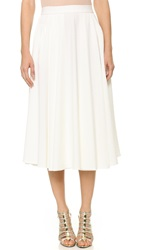 Torn By Ronny Kobo May Textured Skirt White