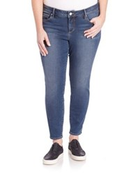 Slink Jeans Plus Size Ankle Length Jeggings Summer Wash