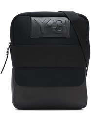 Y 3 'Qasa Report' Messenger Bag Black