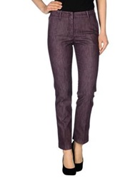 Incotex Denim Pants Mauve