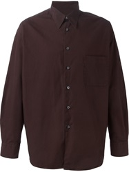 Romeo Gigli Vintage Classic Shirt Brown
